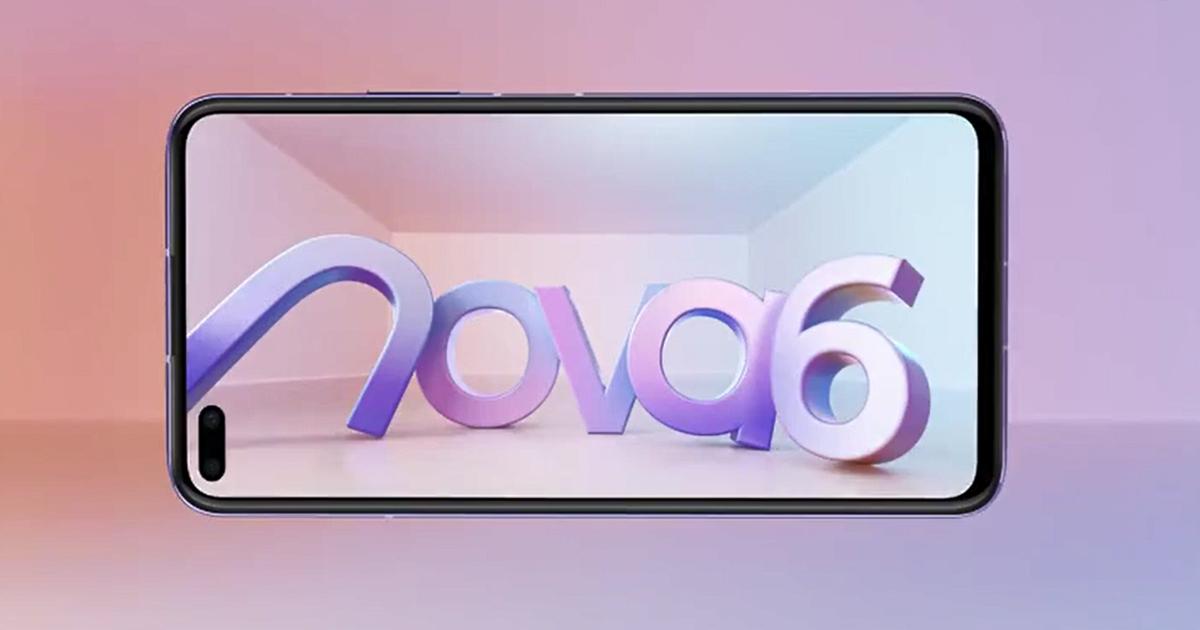 Huawei Nova 6 5G teaser