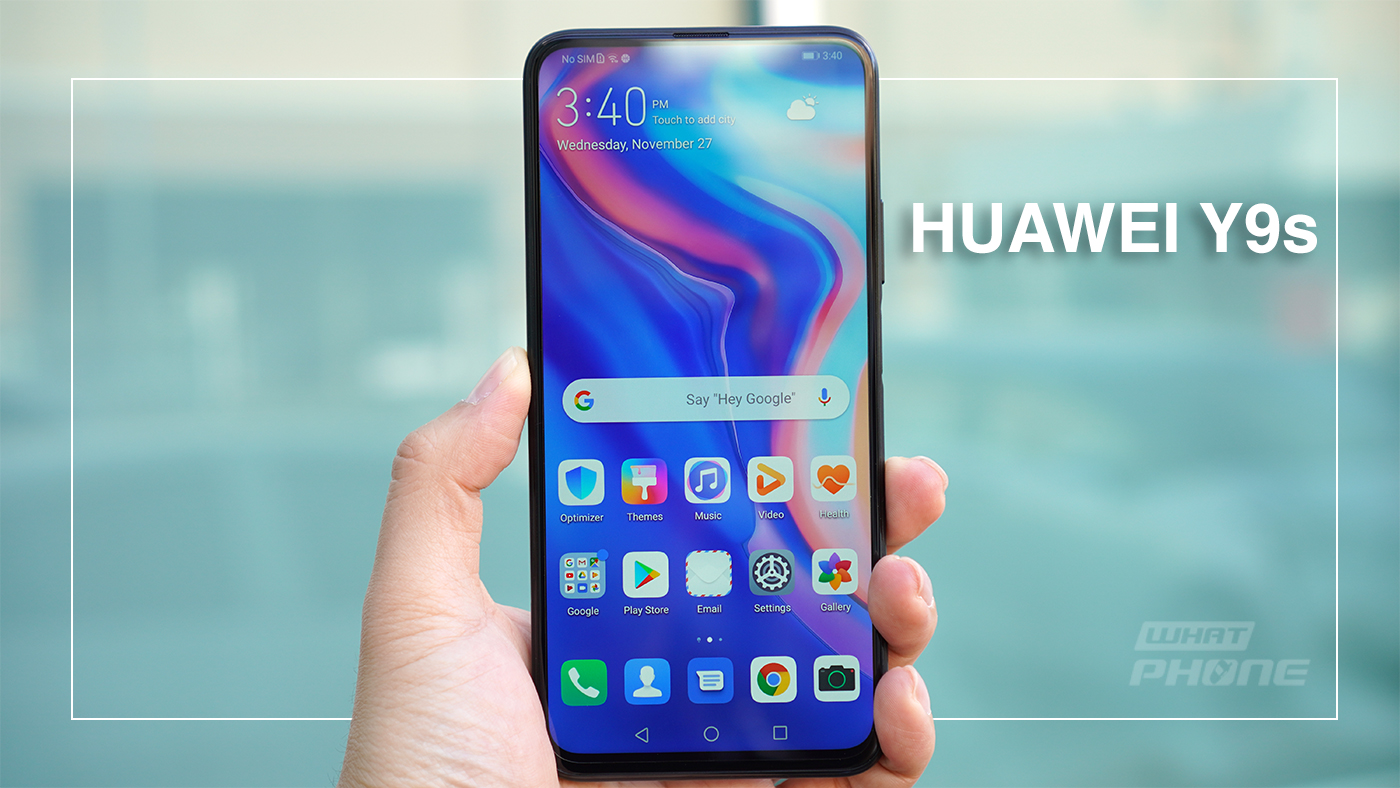 Huawei Y9s รีวิว