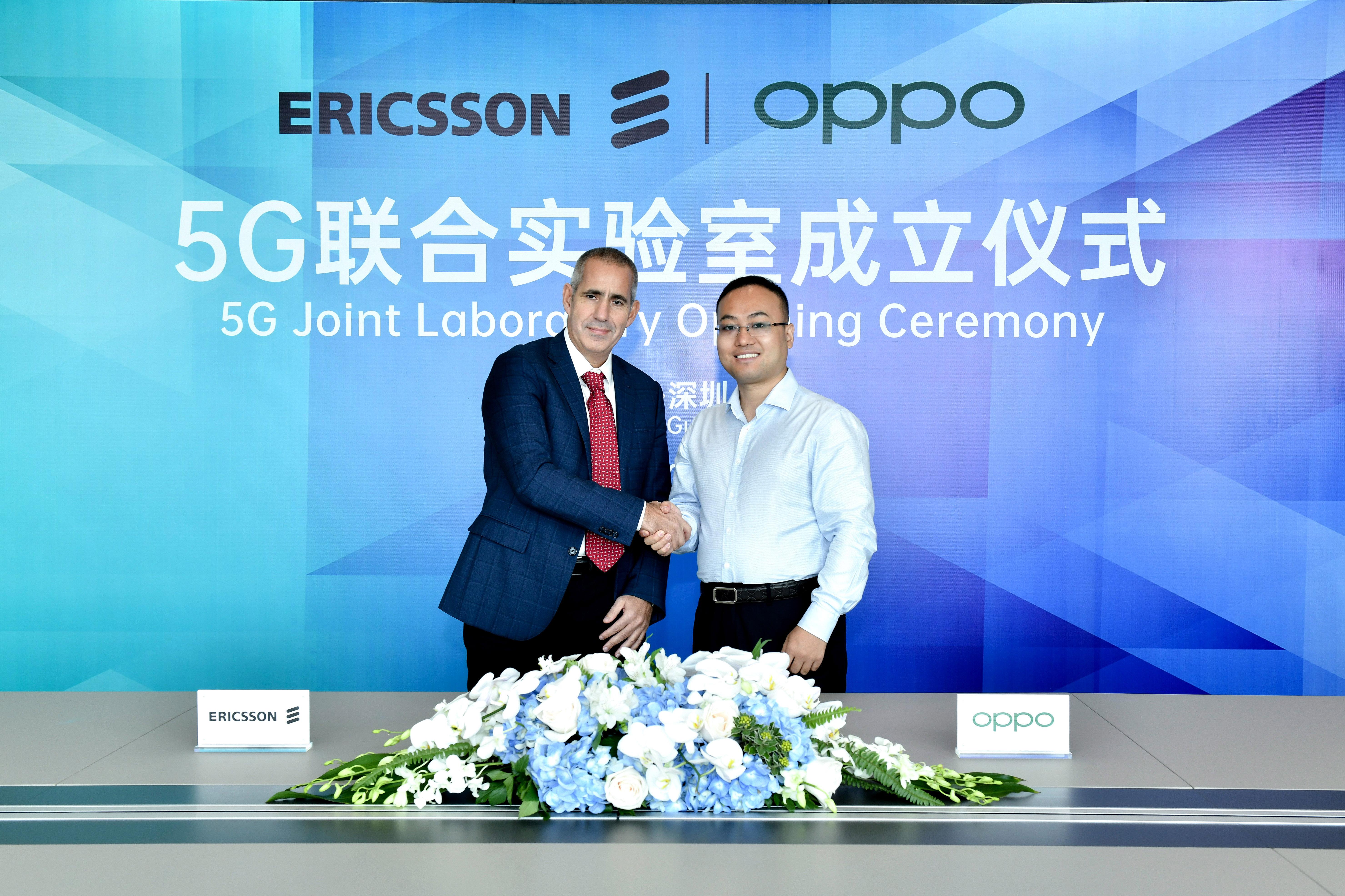 OPPO x Ericsson 5G