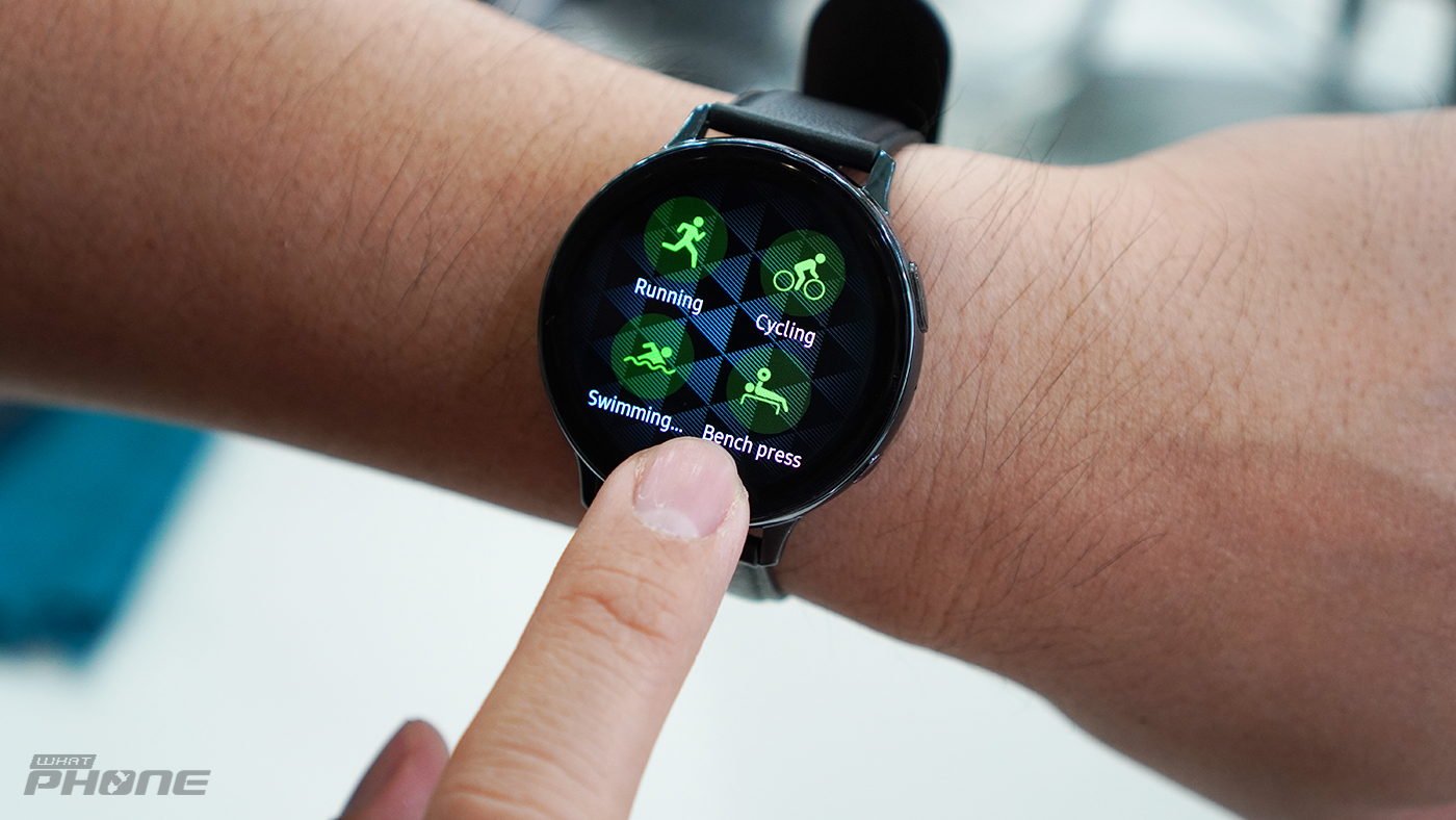 Samsung Galaxy Watch Active 2 ใส่วิ่ง