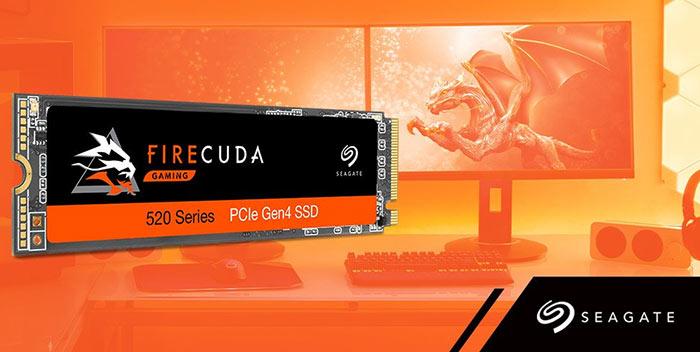 Seagate® FireCuda® 520 PCIe Gen4 x4 2TB