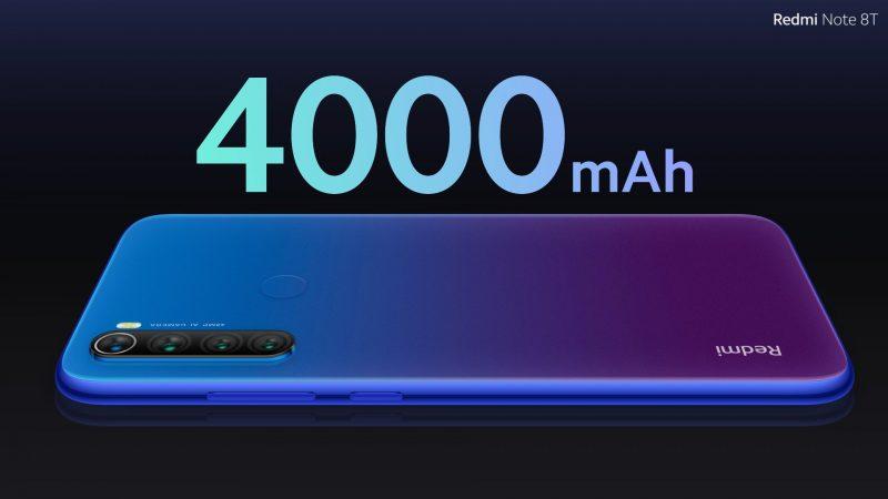 Xiaomi Redmi Note 8T Battery