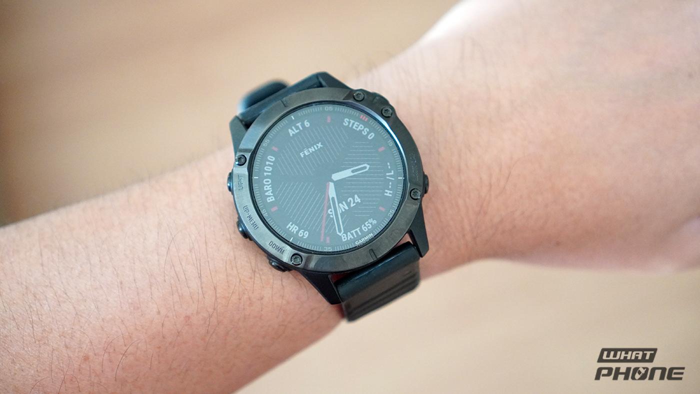 รีวิว Garmin Fenix 6 Sapphire นาฬิกา GPS มัลติสปอร์ต อัพเกรดมาดีกว่าเดิม