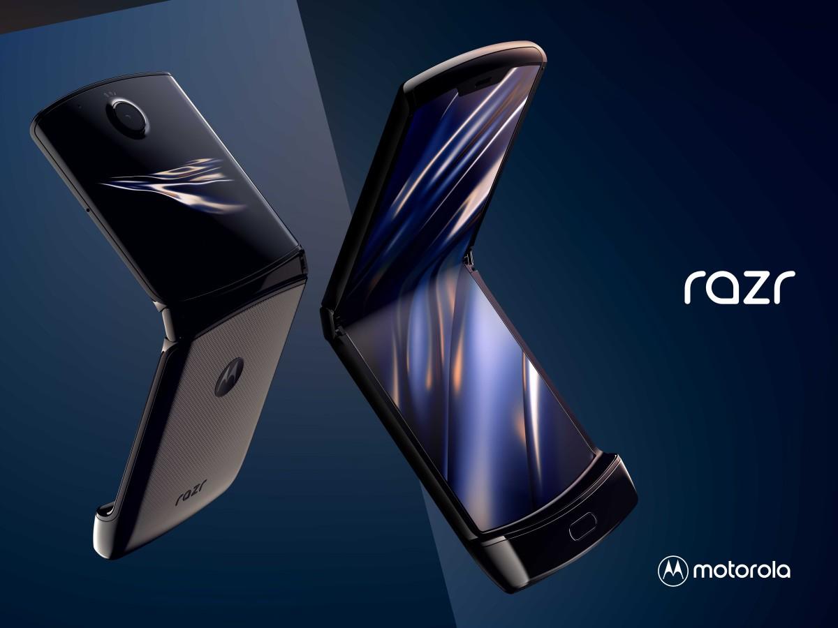 motorola RAZR (2019) สมาร์ทโฟนหน้าจอพับได้