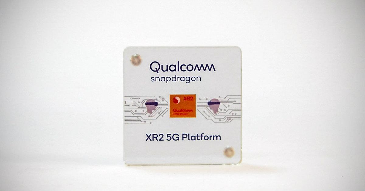 Qualcomm Snapdragon XR2 5g platform header