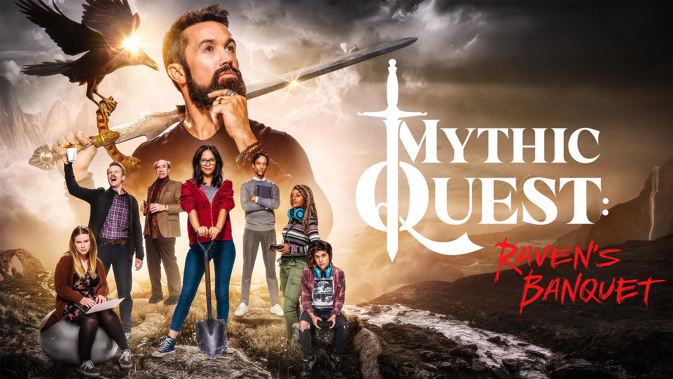 """Apple ปล่อยตัวอย่างหนังซีรีย์แนวคอมเมดี้เรื่องใหม่ """"Mythic Quest: Raven's Banquet"""" พร้อมฉาย 7 ก.พ. นี้ ผ่าน Apple TV+"""