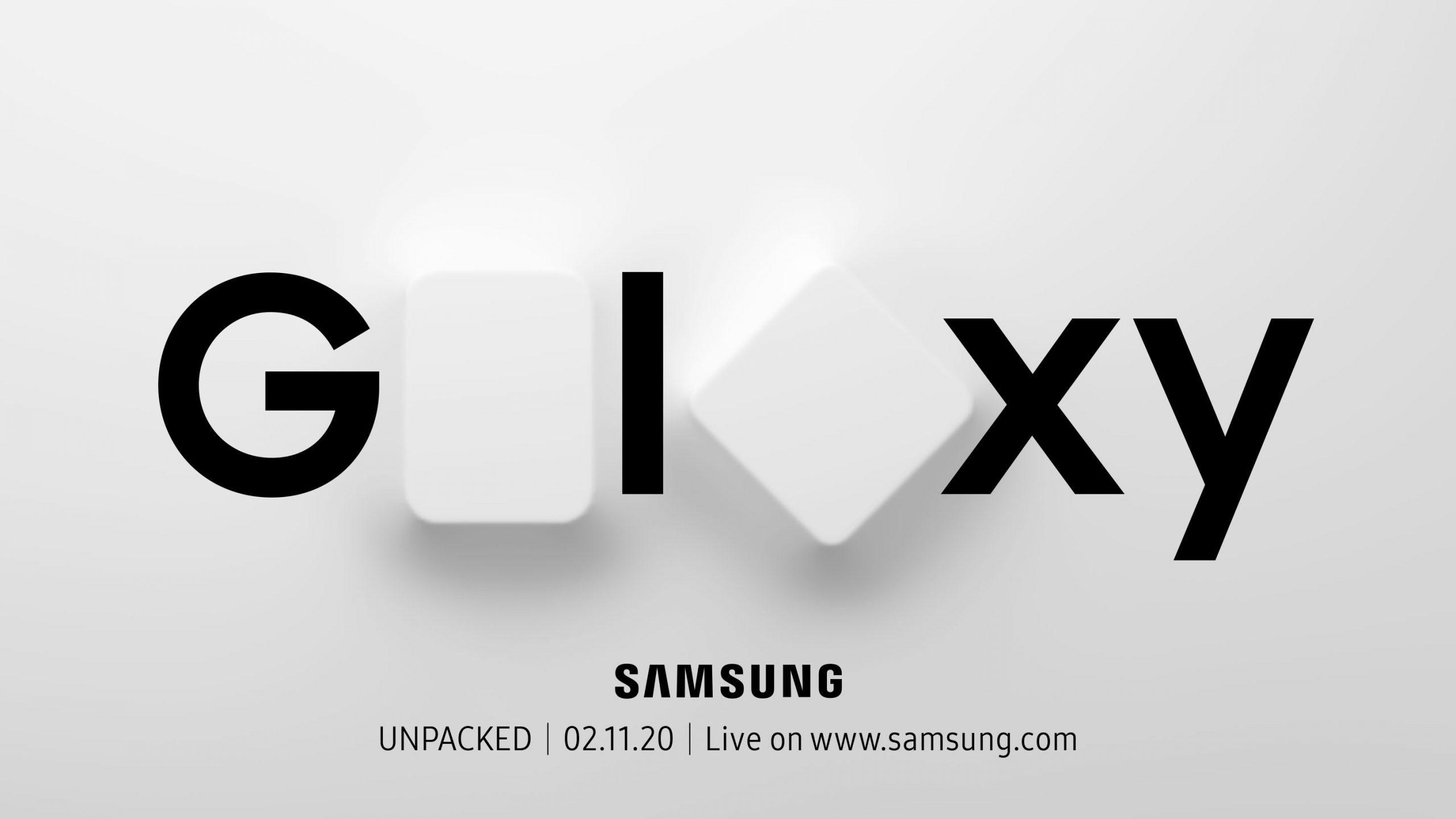 Samsung Galaxy Unpacked 2020 Livestream Reminder