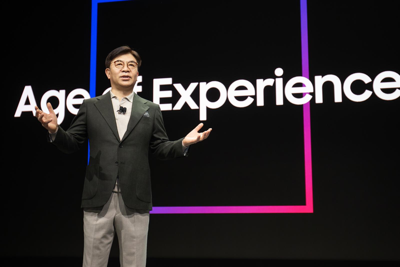 HS.Kim Samsung CES 2020 Keynote