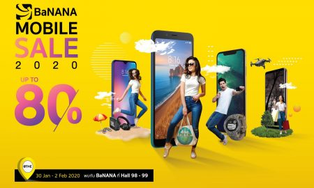 Promorion Banana Mobile sale 2020 Mobile expo