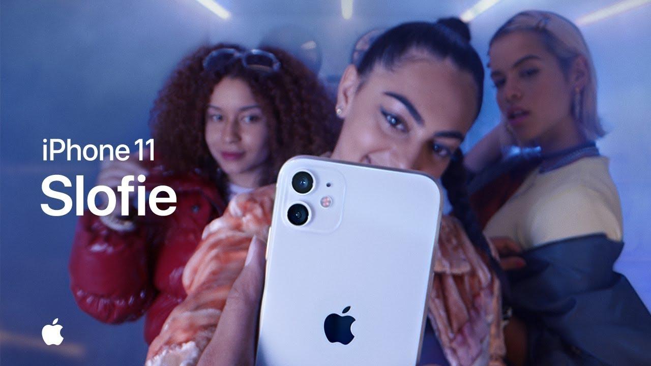 Apple ได้ปล่อยคลิปวิดีโอชุดใหม่ ซึ่งชุดนี้จะเป็นการพูดถึง Slofie ด้วยกล้องหน้าของ iPhone 11 ที่จะทำให้การเซลฟี่ได้แบบสโลว์ชันดูอลังการมากขึ้น