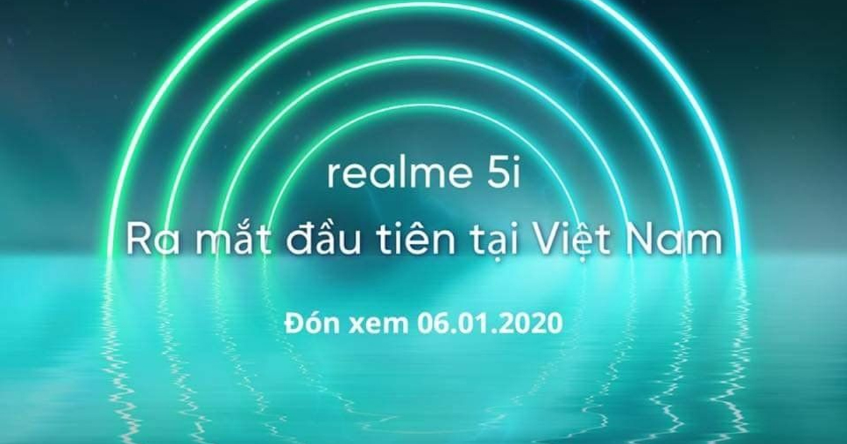 realme 5i is coming