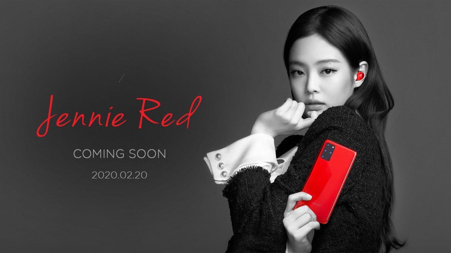 1-BLACKPINK-Jennie-Red-KT-Korea-Telecom-Samsung-S20