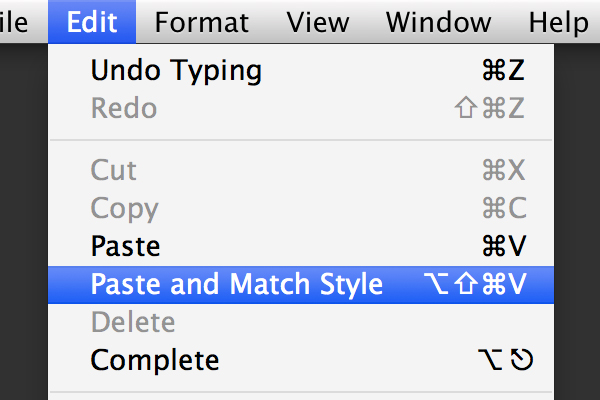 Apple Cut and Paste