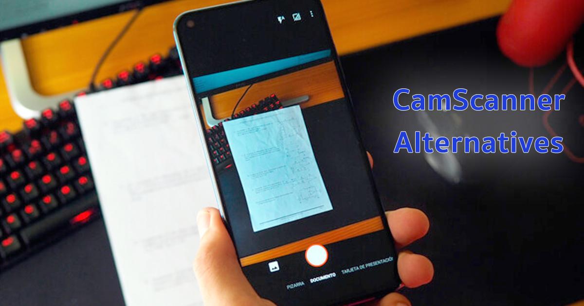 แอป สแกนเอกสาร CamScanner Alternatives