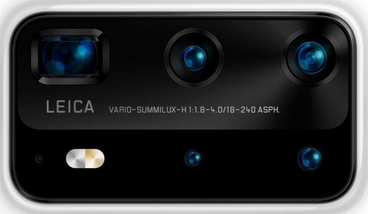 Huawei P40 Camera leaked