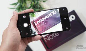 รีวิว Lenovo K10 Note มือถือระดับกลาง ราคาต่ำหมื่น 7,490 บาท