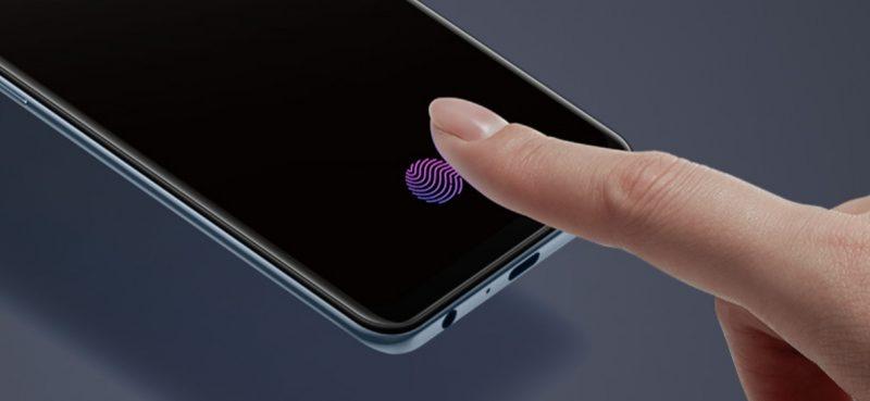 Oppo F15 in display fingerprint