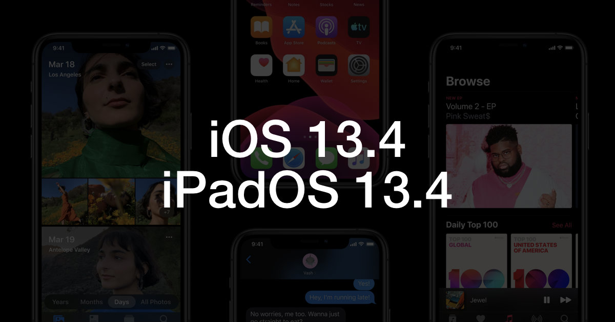 iOS 13.4 Header
