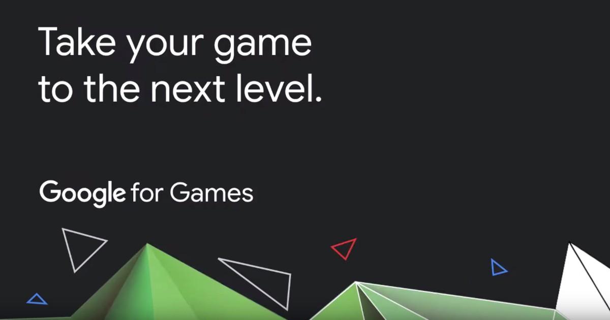 Google for Games Header