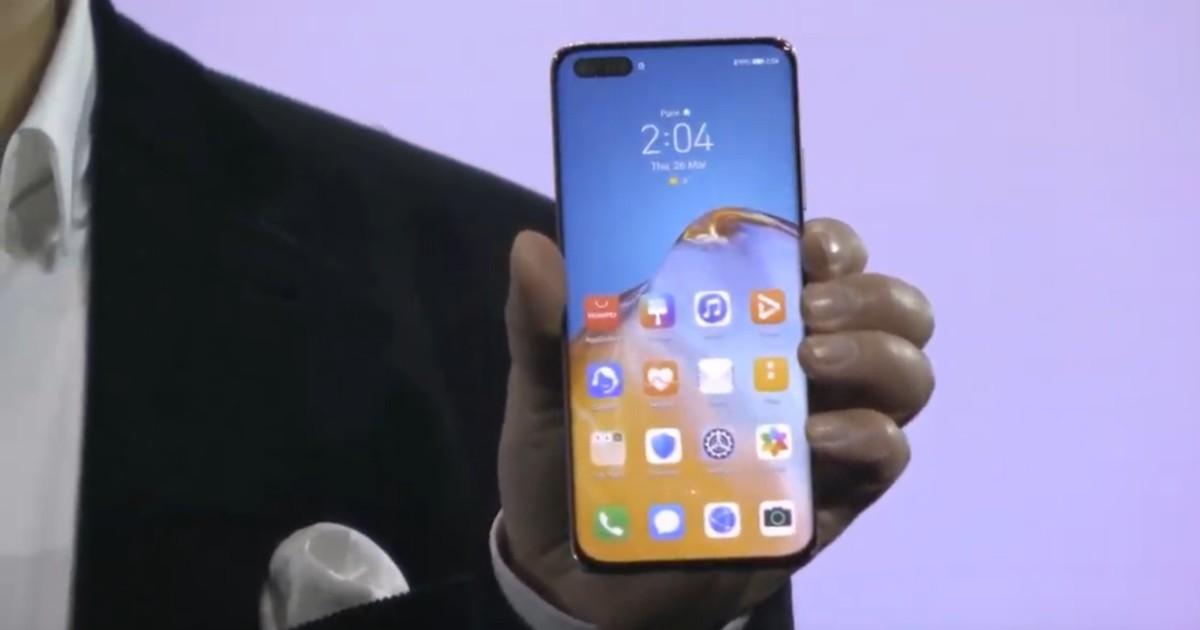 Huawei P40 Header