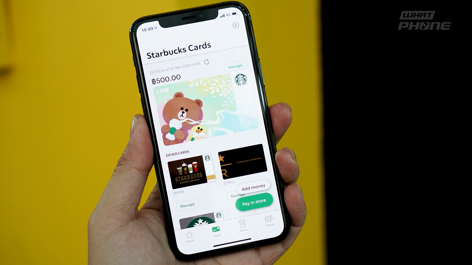 Starbucks Thailand x LINE ครั้งแรกของ Starbucks Card ใน LINE เชื่อมต่อกับ Rabbit LINE Pay เติมเงินสะดวกขึ้น