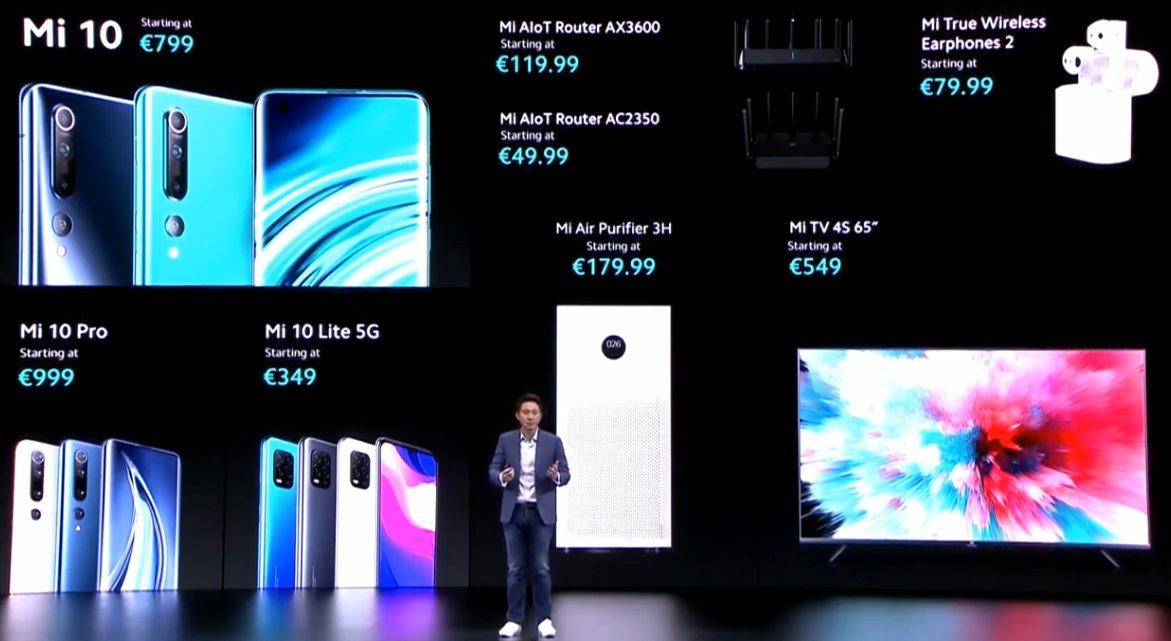 Xiaomi Global Online Launch Event