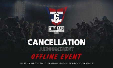 Rainbow Six Operation League Thailand