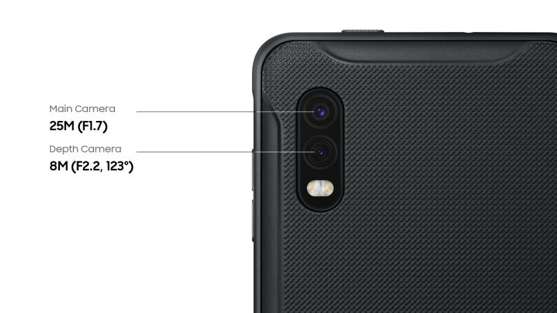 Samsung Galaxy XCover Pro Cameras ready for the outdoors PC