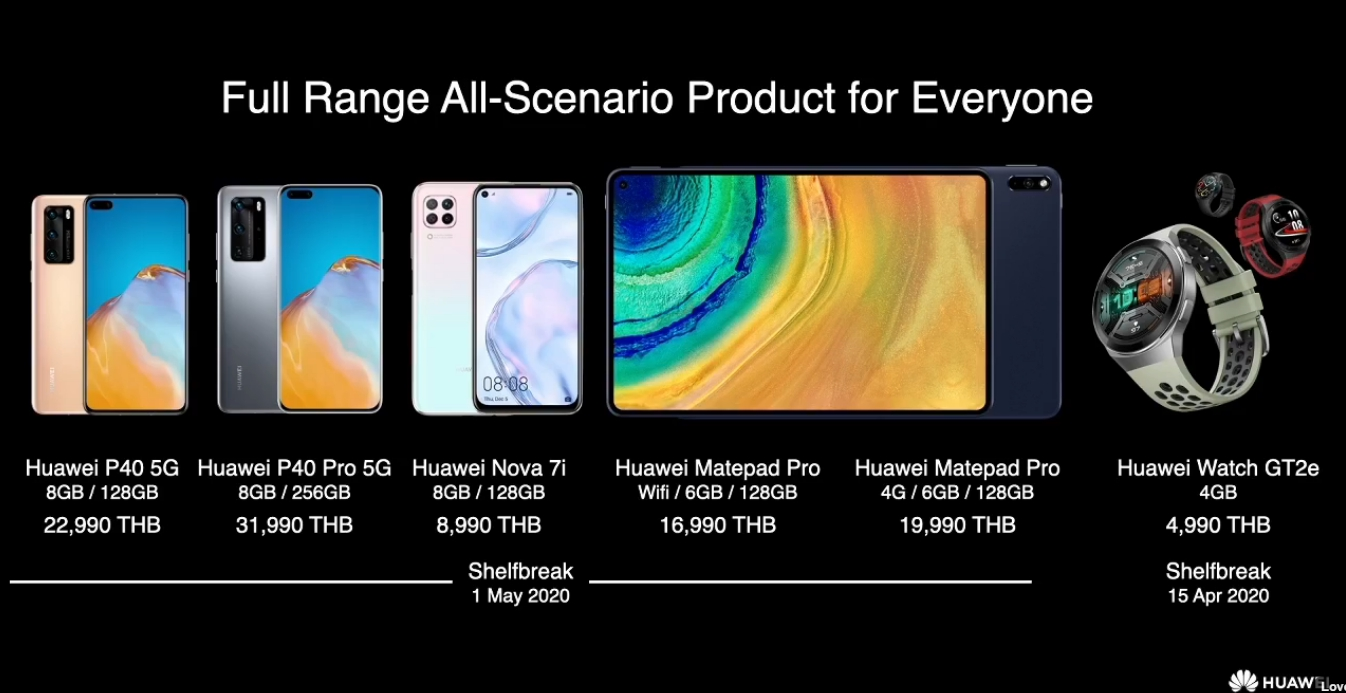 huawei-p40-series-all product-launch-in-thailand