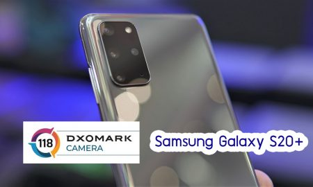 DxOMark Samsung Galaxy S20 Plus