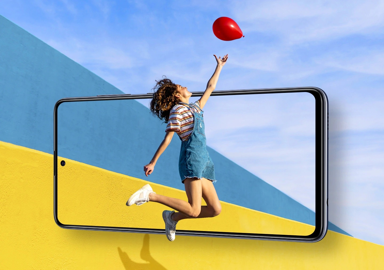 Galaxy A51 Infinity-O Display