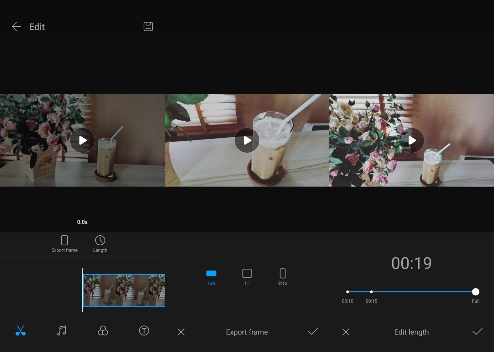 HUAWEI nova 7i AI Video Editing 6