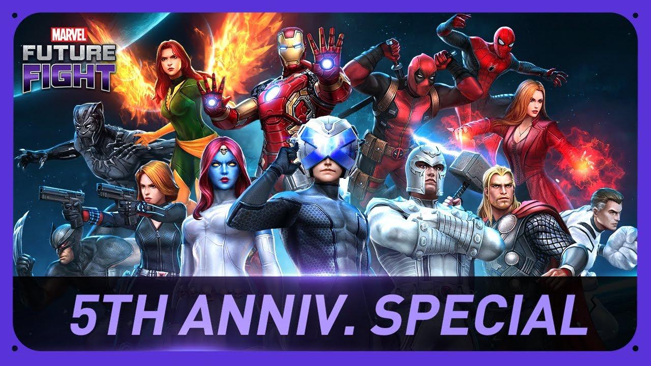 MARVEL Future Fight 5th Anniversary Special