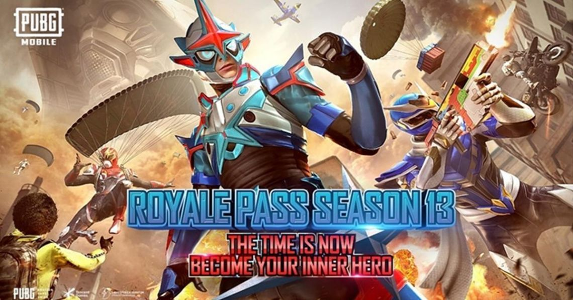 PUBG MOBILE Royale Pass Season 13