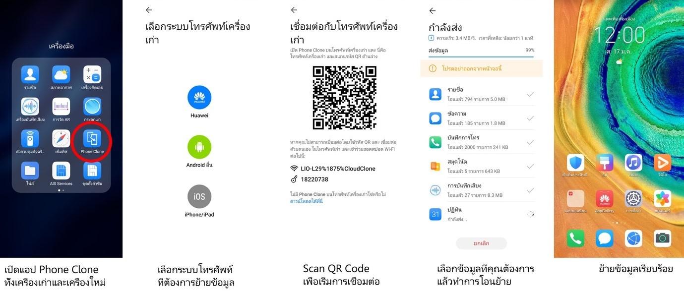 Phone Clone application
