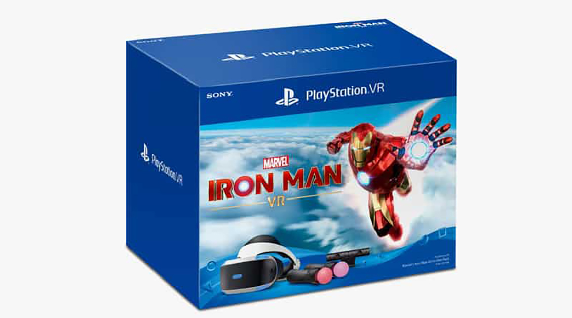 Sony PlayStation VR Marvel's Iron Man All-In-One Pack