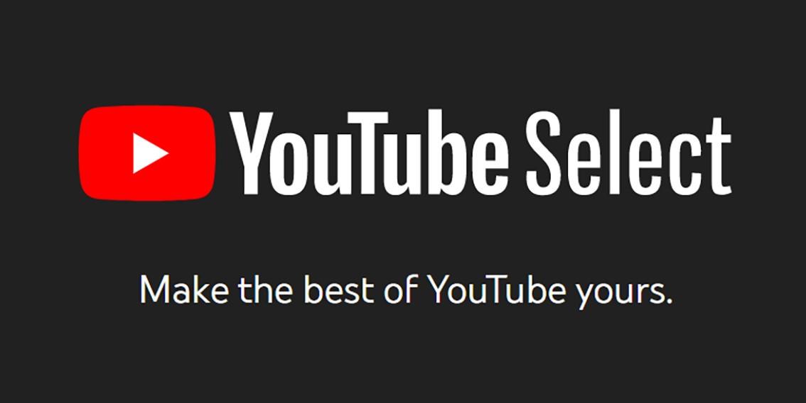 YouTube Select