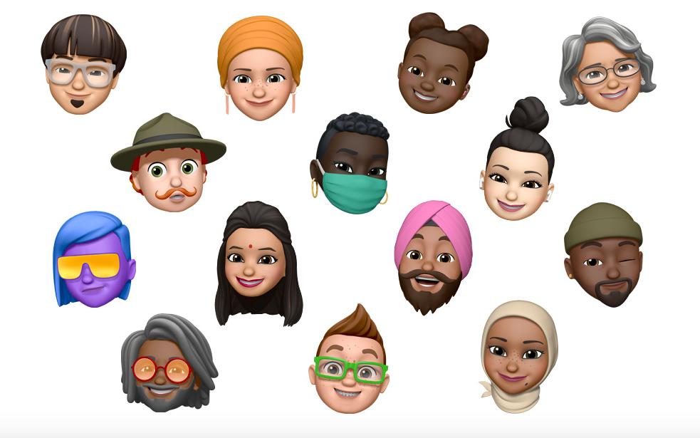 Apple เผยโฉม Memoji และ Emoji ใหม่ที่จะมาใน iOS 14 เนื่องในวัน Emoji โลก