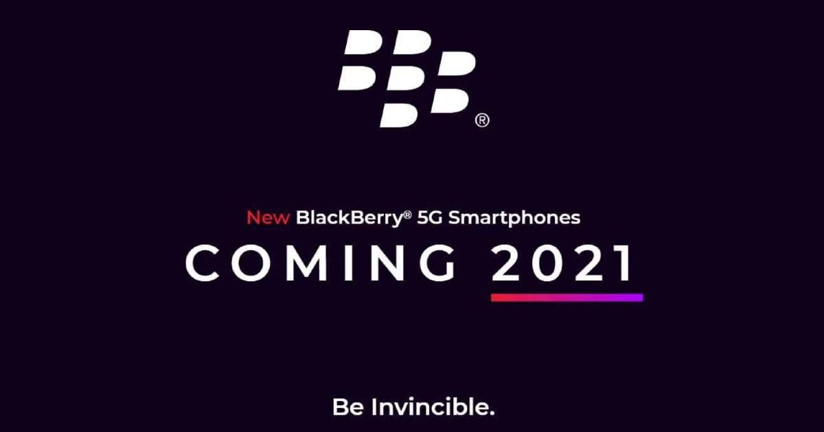 BlackBerry 5G 2021 Header