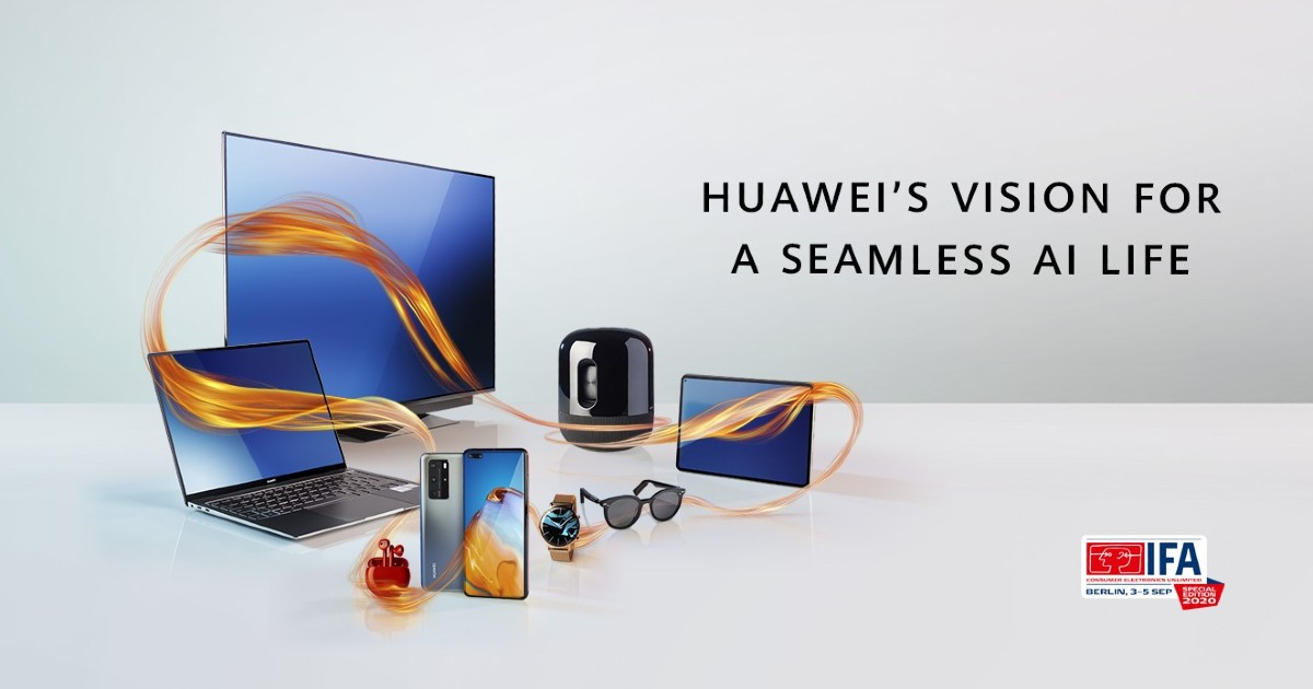 Huawei IFA 2020 Header