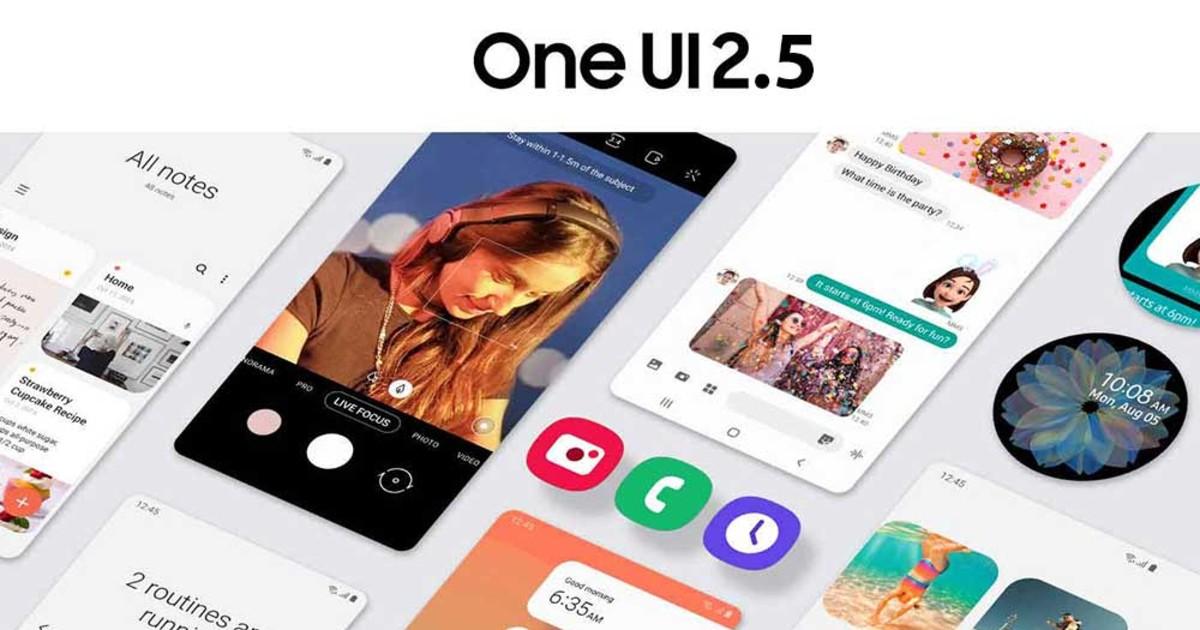 One UI 2.5 Header