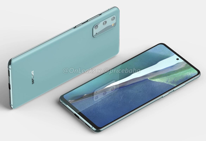 Samsung Galaxy S20 FE 5G Leaked (2)