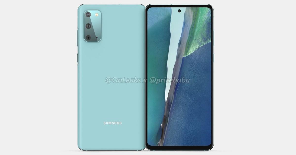 Samsung Galaxy S20 FE 5G Leaked Header