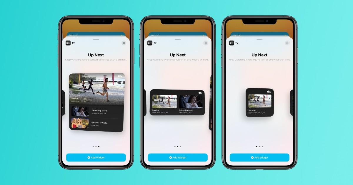 iOS 14 TV App Header