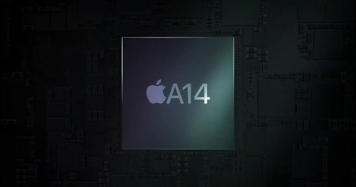 Apple A14 header