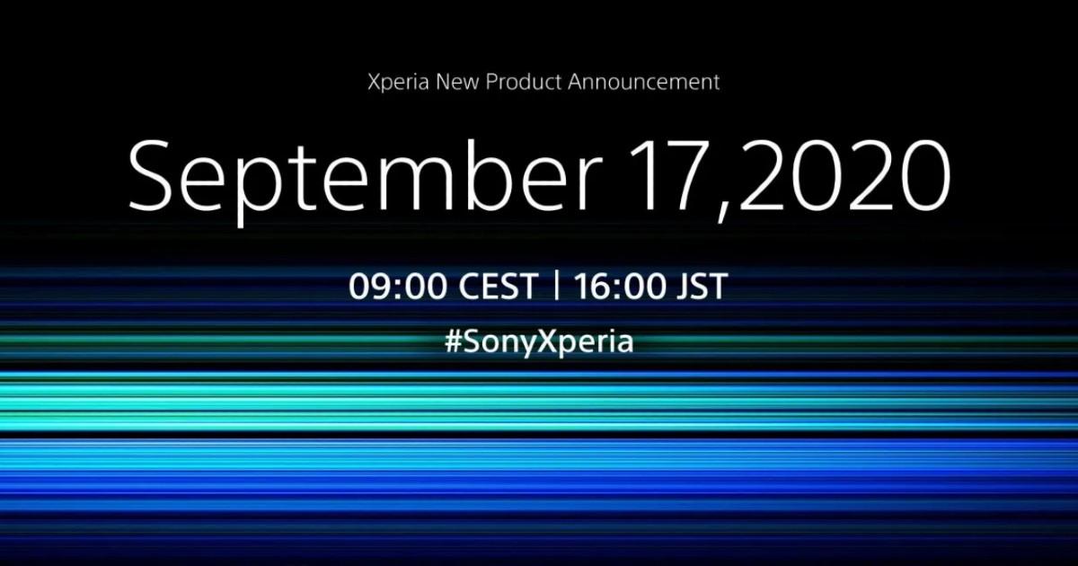 SONY Sep 2020 Event Header
