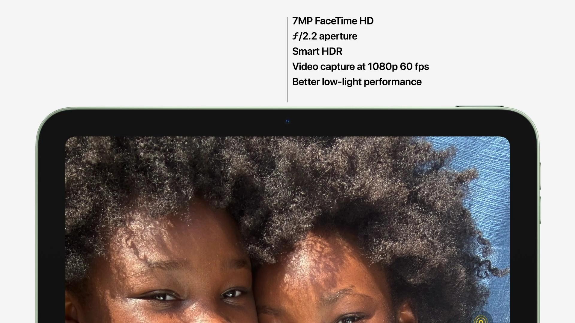 iPad Air 4 Front Camera