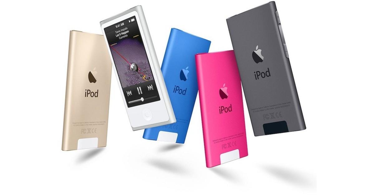 iPod Nano 7th Gen Header