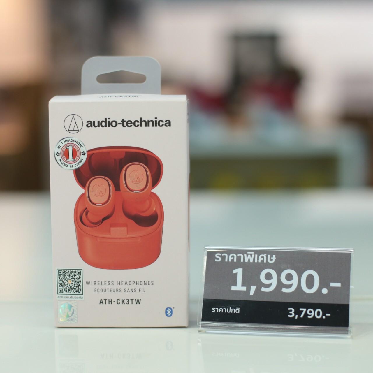PIc_Audio Technica หูฟังไร้สาย รุ่น ATH-CK3TW Wireless Headphone