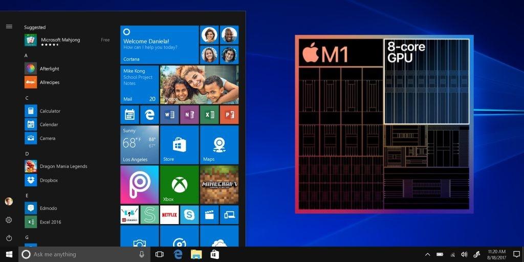 Apple M1 Windows on Arm